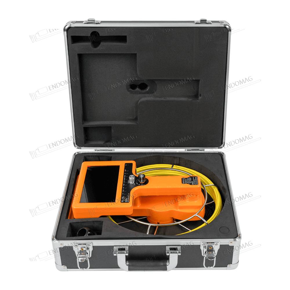 Технический промышленный видеоэндоскоп для инспекции труб WOPSON WPS-710D-SCJ для инспекции, 20 м, с записью - 6