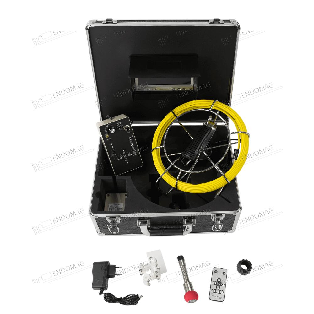 Технический промышленный видеоэндоскоп для инспекции труб BEYOND CR110-7D1 для инспекции, 20 м, с записью
