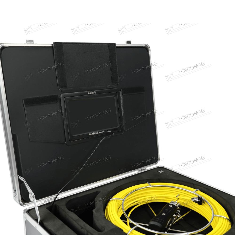 Технический промышленный видеоэндоскоп для инспекции труб Eyoyo WF92 для инспекции, 50 м, с записью - 4