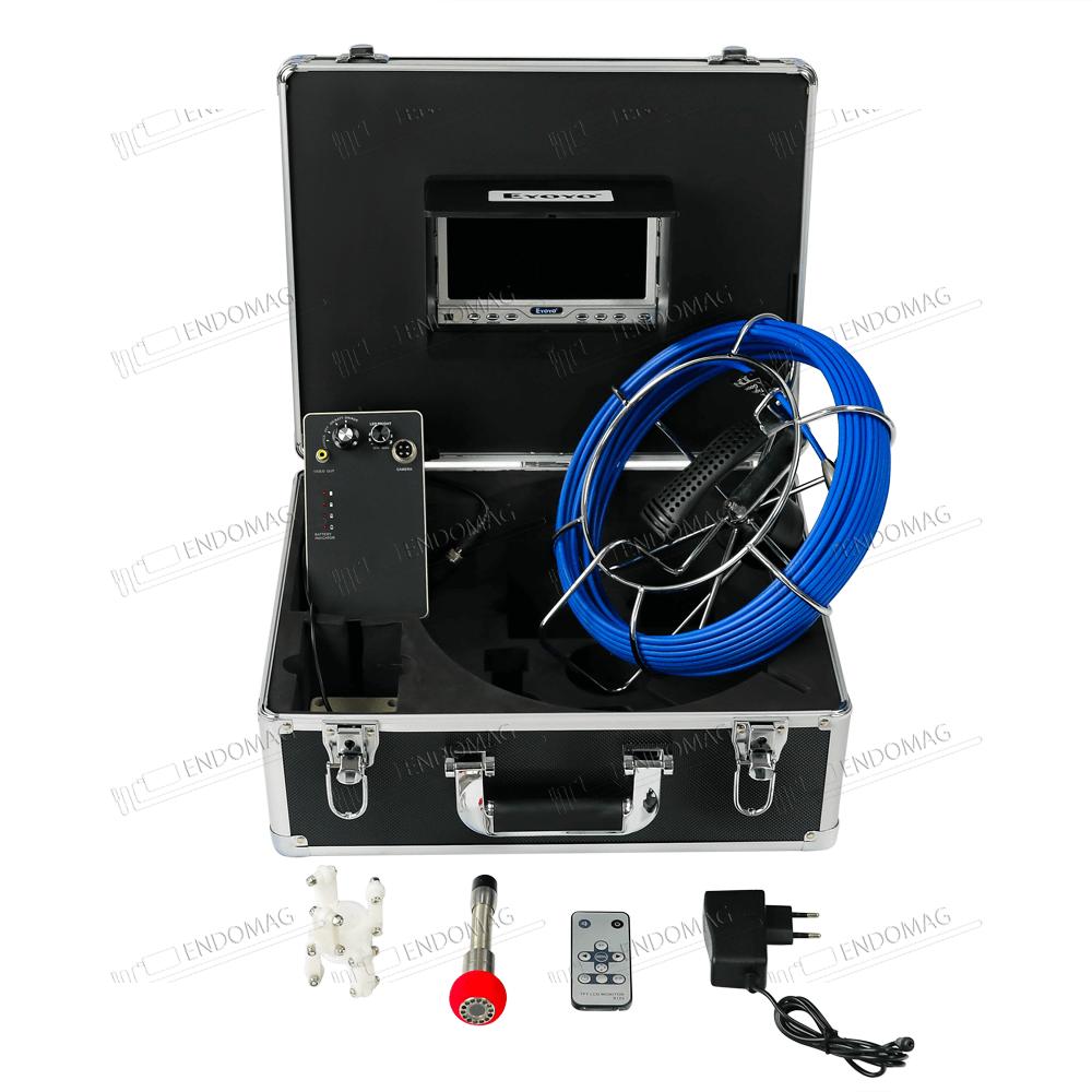 Технический промышленный видеоэндоскоп для инспекции труб Eyoyo EP7D1 для инспекции, 20 м, без записи - 2